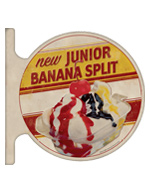 Sonic Drive-In, Junior Banana Split